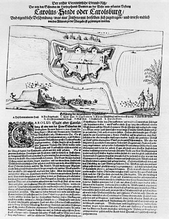 1672 in Sweden - Image: Siege of Carlsburg 1676 (Print)