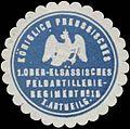 Siegelmarke 1. Ober-Elsässisches Feldartillerie-Regiment No. 15, I. Abteilung W0379165.jpg
