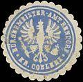 Siegelmarke Bürgermeister-Amt Bendorf Kreis Koblenz W0382473.jpg
