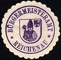Siegelmarke Bürgermeisteramt - Reichenau W0229223.jpg