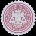 Siegelmarke Commissaire Generale des Pays-Bas W0333036.jpg