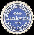 Siegelmarke Gemeinde - Vorstand Lankwitz - Kreis Teltow W0224288.jpg