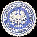 Siegelmarke Königlich Preussisches Standesamt Duderstadt - Kreis Osterode i.-Hann W0259813.jpg