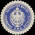 Siegelmarke K. Marine Kommando S.M.S. Seydlitz W0370768.jpg