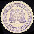 Siegelmarke Stadtschultheissenamt - Nürtingen W0229227.jpg