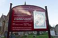 Sign at Parish Church of St Martin, Jersey.JPG