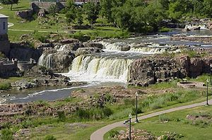 Sioux Falls, South Dakota - Falls of the Big Sioux River