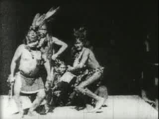 Sioux buffalo dance, 1894