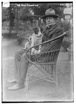 Sir george james frampton, ra (18 june 1860 %e2%80%93 21 may 1928) in 1915