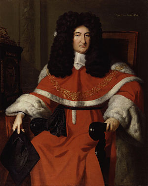 John Holt (Lord Chief Justice) - Lord Chief Justice Holt painted by Richard Van Bleeck, circa 1700