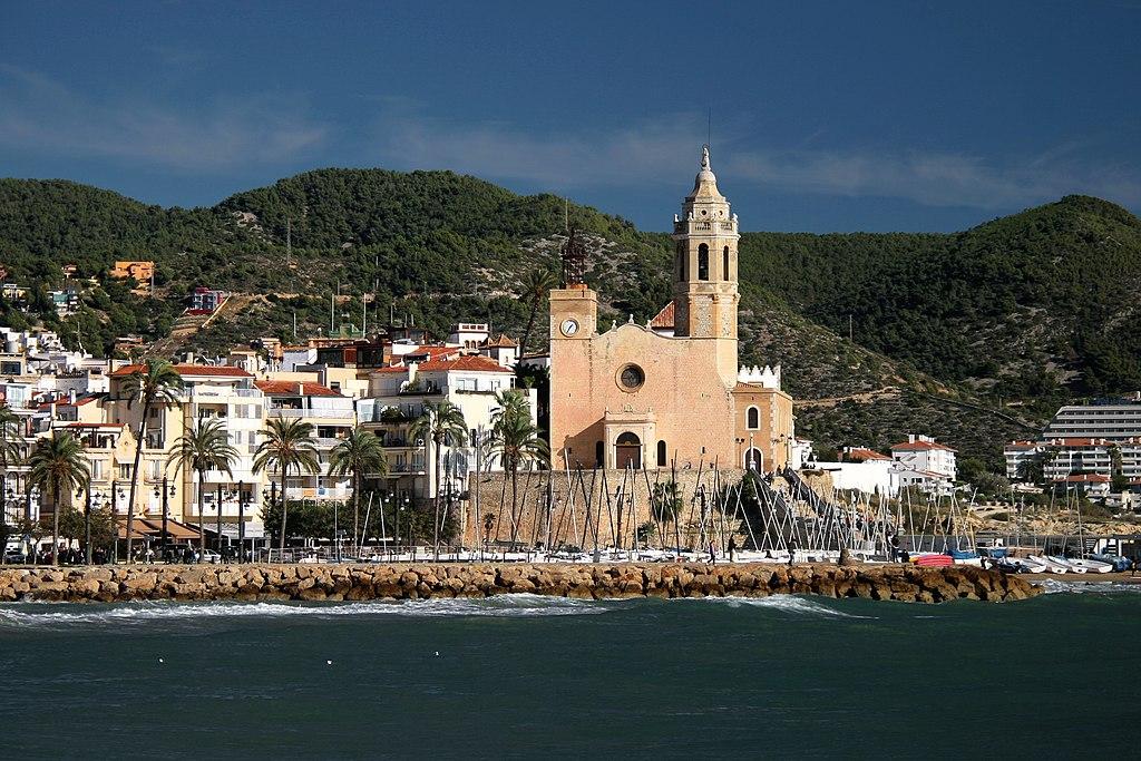 Sitges- Església de Sant Bartolomé i Santa Tecla