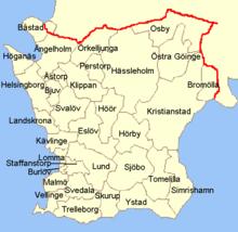 Municipalità della Scania