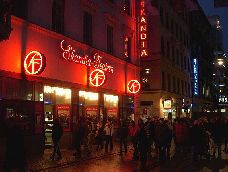 Skandia-Theater in Stockholm