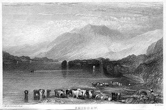 Skiddaw - Skiddaw after J. M. W. Turner (1833)