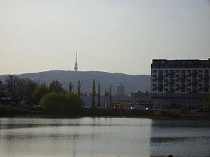 Ružinov - Štrkovec lake in Ružinov