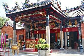 Snake Temple - Front view of Snake Temple