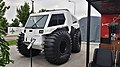 """Snow-swamper vehicle """"Khan-extreme"""" passenger edition during the """"Armiya 2021"""" exhibition (front view).jpg"""