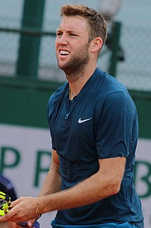 Jack Sock American tennis player