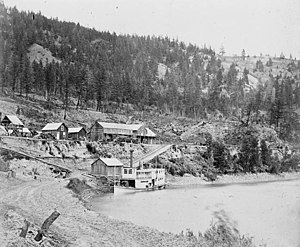 Gustavus Blin Wright - Wright's Enterprise at Soda Creek 1868