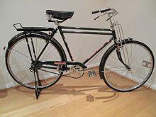 Sepeda Onthel Wikipedia Bahasa Indonesia Ensiklopedia Bebas