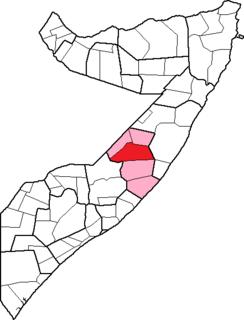 District in Somalia