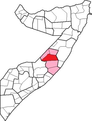 Dhusamareb District - Image: Somalia, Galguduud region, Dhusamarreeb district