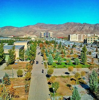 Isfahan Province - Islamic Azad University of Najafabad has the largest university campus in Middle East