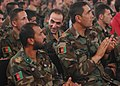 Some trainees from National Military Academy of Afghanistan(NMAA) applaud (4723945851).jpg