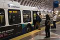 Sound Transit Express bus at Pioneer Square Station (8941820195).jpg