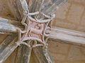 Sourzac église plafond grande chapelle sud clé (1).JPG