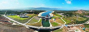 South–North Water Transfer Project - Image: South–North Water Transfer Project Central route starting point taocha