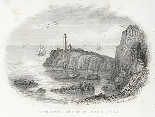 South Stack light house near Holyhead