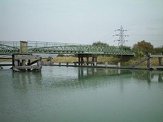 Southease - Southease swing bridge