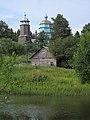 Southwest View. Church of the Presentation of the Lord (Сретения Господня) in Peski (XVIII c.).jpg