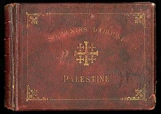 Félix Bonfils - Cover of Souvenirs d'Orient, 1878 by Félix Bonfils