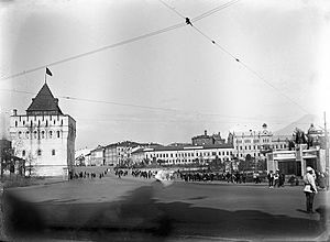 Minin and Pozharsky Square - Soviet Square. The 1920s