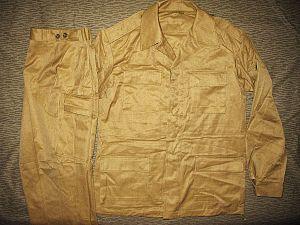 """Afghanka - Soviet summer M1982 """"Afghanka"""" khaki field uniform."""