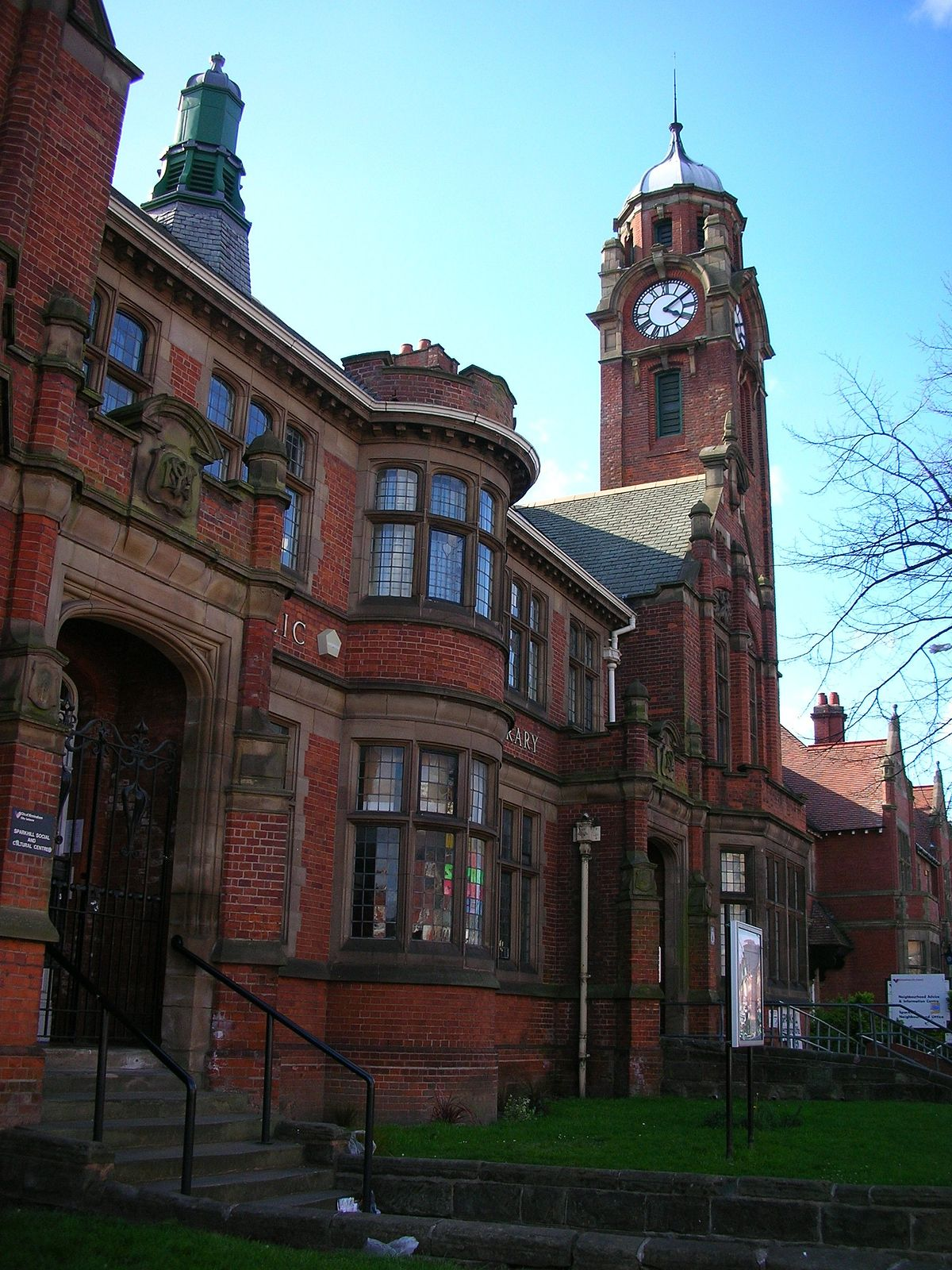 Image result for sparkhill library