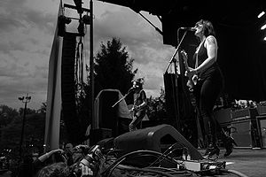 Spinnerette playing the B.C Virgin Fest at Deer Lake Park.jpg