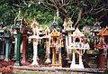 Spirit houses at Lampang-Chiang Mai highway - panoramio.jpg