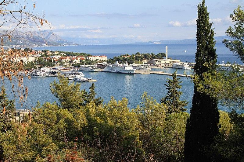 Split Harbour Croatia