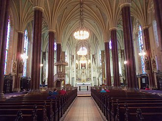 National Shrine of St. Alphonsus Liguori - Image: St. Alphonsus Church interior, Baltimore