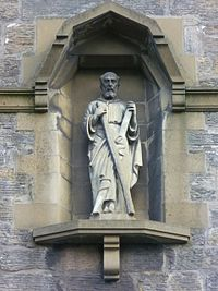St. Andrew statue, Church Street, St. Andrews.jpg