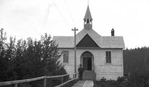 National Register of Historic Places listings in Wrangell, Alaska - Image: St. Philip's Church, Wrangell, Alaska