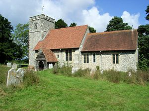 Wormshill - Image: St Giles Wormshill