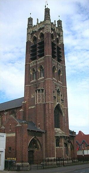 St Agatha's Church, Sparkbrook - Image: St Agatha, Sparkbrook