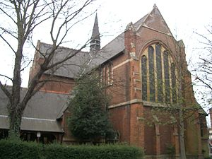 George Furness - St. Andrew Church, which was built with Furness' bricks