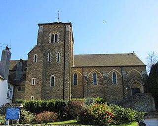 St Edmund Church, Godalming Church in Surrey , United Kingdom