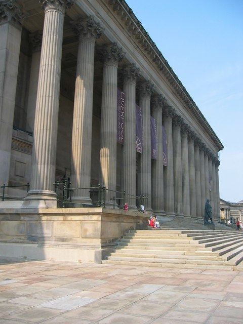 St George's Hall, Liverpool - geograph.org.uk - 500194