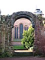 St John's Church, through the ruins of its former east end - geograph.org.uk - 1180504.jpg